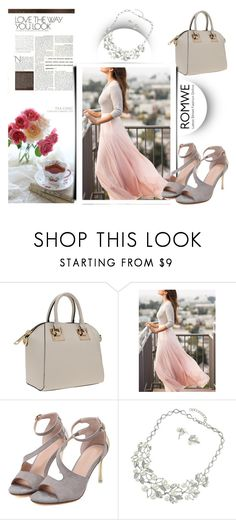 """""""ROMWE 9/10"""" by melissa995 ❤ liked on Polyvore"""