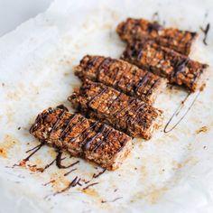 Barrinhas de Sementes e Chocolate - receita saudável