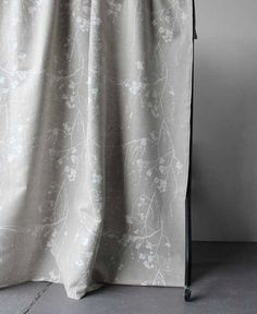 LINED Curtains Bramble 4 colours Custom Curtains Made by WhoaBoho