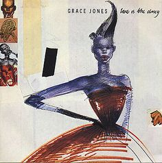"Grace Jones, Love Is The Drug, UK, 7"" vinyl single"