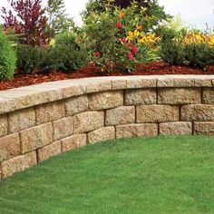 Create a landscape you love. Belgard blocks are ideal for raised flower beds and small garden retaining walls. Materials are easy to install for the experienced DIYer.