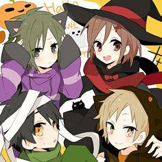 Ayano   Kano   Kido   Seto   Kaerou Project [ Happy Halloween]