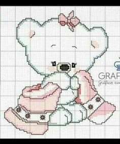 Baby Cross Stitch Patterns, Cross Stitch Fabric, Cross Stitch Baby, Cross Stitch Animals, Cross Stitch Charts, Cross Stitching, Cross Stitch Embroidery, Christmas Embroidery Patterns, Cross Stitch Pictures