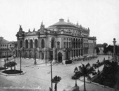 Antigo e Belo: Teatro Municipal