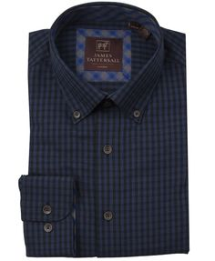 JTW6619-Blue from James Tattersall Clothing