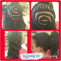 I used Kima Ocean Wave...Did micros around the edges and crocheted the middle...#keyjewelsinc