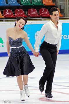 Ice Dance ~ Anna Cappellini & Luca Lanotte (Italy) [photo ©Dilola]
