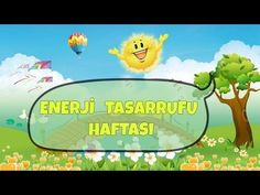 Enerji Tasarrufu Haftası - YouTube #enerji#enerjitasarrufuhaftasi#belirligunvehaftalar# Pre School, Science, Songs, Youtube, Children, Water, Young Children, Boys, Kids