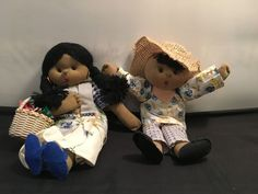 Vintage 1998 Handcrafted Filipino Dolls –Boy-Girl Set in Traditional Attire in Dolls, Bears, Dolls, Other Dolls Filipino, Philippines, Bears, Crochet Hats, Traditional, Dolls, Vintage, Knitting Hats, Baby Dolls
