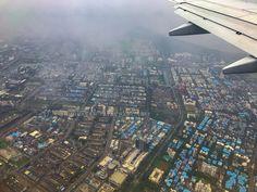 Blue city! Mumbai!! #iphone7plus #snapseed #lr #skies #plane