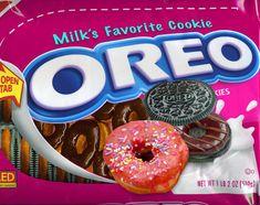 Weird Oreo Flavors, Pop Tart Flavors, Cookie Flavors, Funny Food Memes, Food Humor, Oreos, Junk Food Snacks, Oreo Cookies, Oreo Donuts