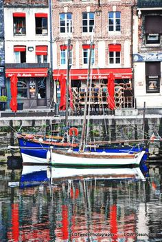 France Photography Seaport Photo Reflection by LDTwedePhotography, $7.99