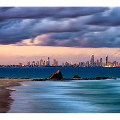Currumbin looking back towards Surfers Paradise - the Gold Coast, Queensland || hirsty.com.au