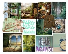 """Paradise"" by chandracatofthetardis ❤ liked on Polyvore featuring art"