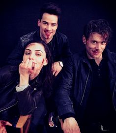"Joseph Morgan, Phoebe Tonkin & Andrew Lees of ""The Originals"""