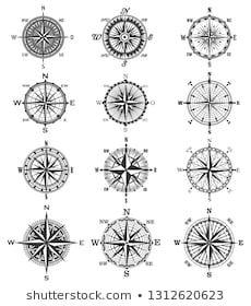 Vintage Compass Images Stock Photos Vectors Shutterstock Vintage Compass Compass Symbol Compass