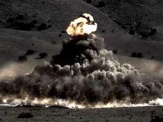 Huge Explosive Test at EMRTC - YouTube
