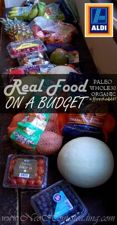 Real Food On A Budget: Clean Eating Aldi Shopping Guide | Neo-Homesteading