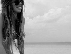 long beach, beach waves, hair colors, mermaid hair, wavy hair, summer hair, long hair dos, lock, beach hair