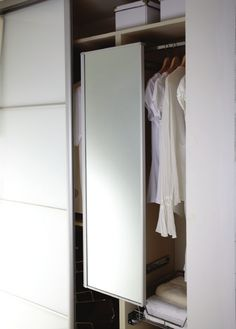 Pull-Out Pivoting Mirror