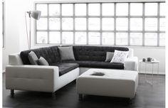 Générosité, confort et style impeccable sont les maitres mots de ce canapé d'angle KINLEY, résolument moderne