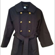 J.Crew Navy Peacoat J.Crew Preppy Fall Coat. This is the perfect Fall jacket. Button and tie closure in front. Only worn once. It's in perfect condition. The best quality fabric! J. Crew Jackets & Coats Pea Coats