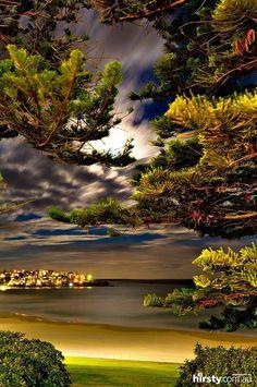 Bondi beach, Australia! I would like to go there!