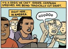 Our national crisis of interrupted campaign speeches