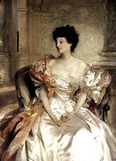 The Lady In Tweed, John Singer Sargent.