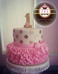 Ideas For First Birthday Cakes For Baby Girl #BirthdayCakes http://ift.tt/2ltkHoF