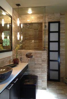 Zen Bathroom - asian - bathroom - cedar rapids - Monarch Renovations