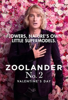 Zoolander 2 - Hansel Owen Wilson, Cult Movies, Funny Movies, Films, Wilson Movie, Cinema Posters, Movie Posters, Wes Anderson Movies, Valentines Day Messages