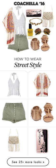 """Boho chic."" by mbra2972 on Polyvore featuring River Island, Theodora & Callum, Lauren B. Beauty, Qupid, Casetify, Jennifer Behr and bestofcoachella"