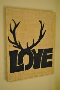 Love with antlers