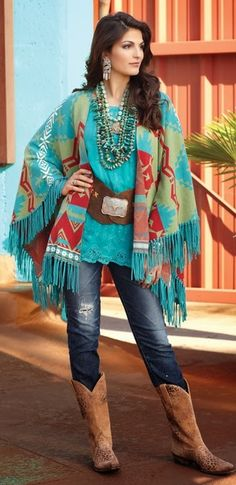 Tribal Southwestern Aztec Scarf Spring Summer Women Accessory Gift For Her Woman…