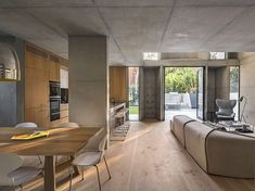 concrete residence | April and May