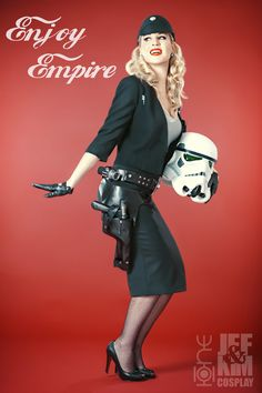 Classy and Sexy Pin-Up Style Juno Eclipse (Star Wars) Cosplay [Pics]