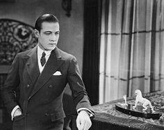 Rudolph Valentino in a scene from Cobra, 1925