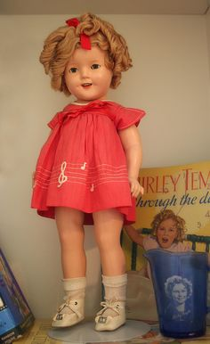 Shirley Temple doll. My brother punched her in the nose and she swallowed her teeth!