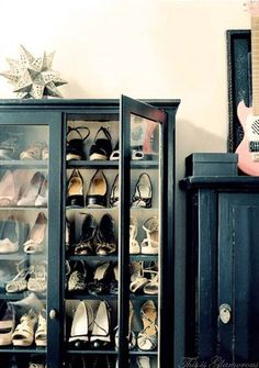 My new cabinet for shoes!!!
