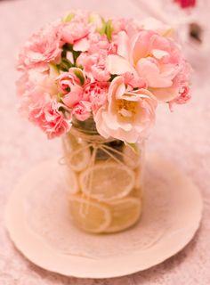 Doilies, raspberries, and lemonade for Mothers Day, in this bouquet, tablescape and mantle decor. Mothers Day Event, Mothers Day Decor, Mothers Day Brunch, Mothers Day Crafts, Happy Mothers Day, Floral Centerpieces, Flower Arrangements, Brunch Decor, Brunch Ideas