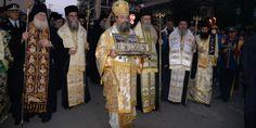 Από την Πάτρα στο Αντίρριο η Αγία Ζώνη - Ξεκίνησε το ταξίδι της επιστροφής στο Άγιο Όρος