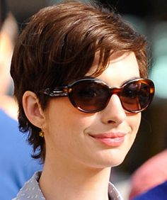 Adorable, manageable-looking short hair.