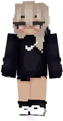 nike hd Minecraft Skins Creeper, Hd Minecraft, Minecraft Skins Female, Minecraft Skins Aesthetic, Cool Minecraft Houses, Minecraft Projects, Minecraft Crafts, Minecraft Skins Cute Girl, Minecraft Stuff