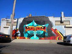 Check out some of the world's best street art from graffiti artists, urban artists & street artists including Kobra, Mr Brainwash, Zilda, Obey & Aryz Graffiti Art, Urban Graffiti, Best Street Art, Stencil Art, Street Artists, Pilgrim, Urban Art, All Art, Wall Murals