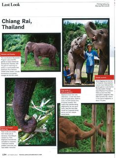 ‎Travel + Leisure Southeast Asia, the world's biggest travel magazine brand, came to have a 'Last Look' at the Golden Triangle's Think Elephants International guest educational experiences http://twitter.yfrog.com/nfhzsp Shared by