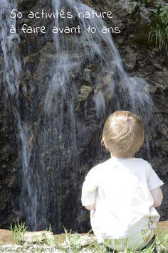50 idées d'activités dans la nature à faire avant 10 ans - Liste + album photo à télécharger