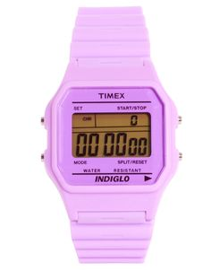 Timex 80 Pastel Purple Buckle Clasp Watch— I really do have a thing for purple watches.