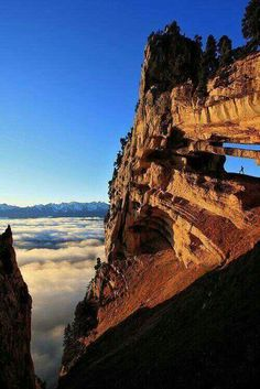 Chartruese Arch, The French Alps
