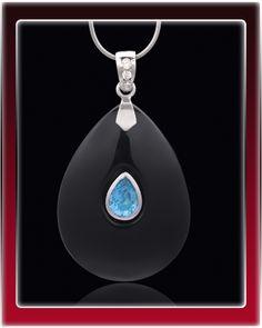 Black Hopeful Cremation Jewelry $99.99